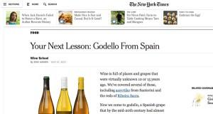 O New York Times pon a súa mirada no godello