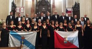 O Orfeón Valdeorrés remata a súa xira por Praga