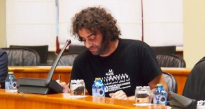 Davide Rodríguez e Paula Quinteiro preguntan sobre o dispositivo de prevención e extinción de incendios forestais