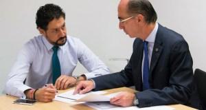Moisés Blanco reúnese co conselleiro de Sanidade para abordar a reforma da Lei de Saúde