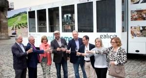 A Ruta do Viño de Valdeorras, presente no roadshow das rutas galegas que vén de presentarse en Santiago