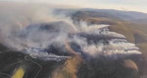 Decretada a situación 2 nun incendio forestal en Viana do Bolo