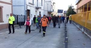 Medio cento de participantes na VI Andaina de Trives
