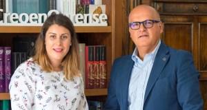 A nova alcaldesa de Vilariño de Conso reúnese co presidente da Deputación