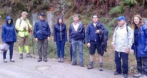 A Andaina pola Via Nova chega a Valdeorras e Trives na súa quinta edición