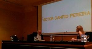 O PEN Galicia e o Ateneo renden unha sentida homenaxe ao poeta Víctor Campio Pereira