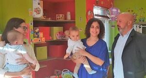 As casas niño da Gudiña e de Monterrei, visitadas pola directora xeral de Familia
