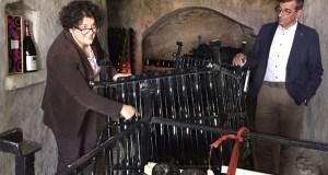 A valdeorresa Cristina Murga presenta en Sober os primeiros escumosos da Ribeira Sacra