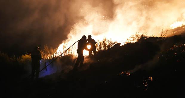 Detido un vigués como presunto autor dun lume en Xinzo de Limia