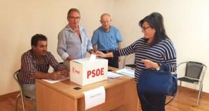 Votación ás primarias socialistas, no oriente ourensán
