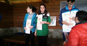 Cristina Neta, orientadora do Club Peña Trevinca O Barco, campiona galega de distancia longa