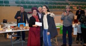 Rosa Mª Dacosta gaña o concurso de cociña do Porco Celta de Manzaneda