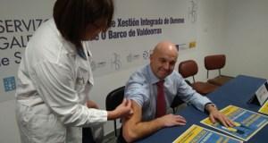 A EOXI ourensá prepara un plan para o posible aumento da afluencia pola gripe