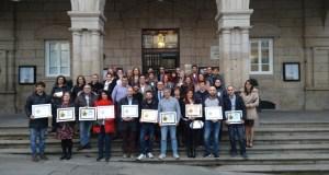 """Entrega de premios do concurso """"Sabores de Ourense"""", pinchos de outono"""