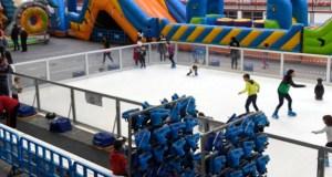 Viana do Bolo abre o Nadal cunha pista de patinaxe