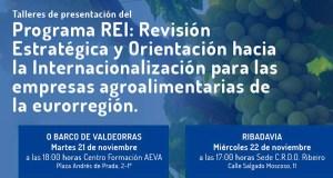 Presentación do programa de REI de internacionalización, no Barco o 21 de novembro