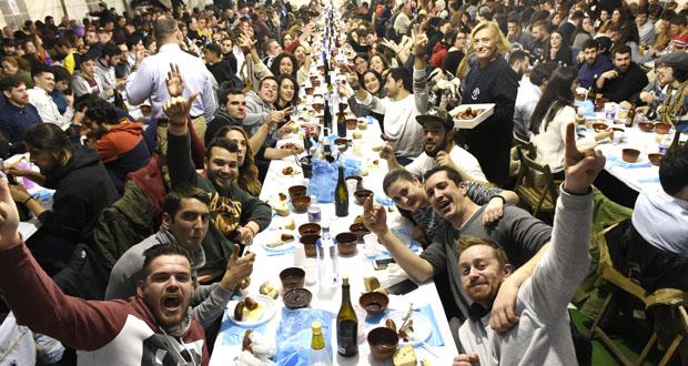 Multitudinaria e animada Festa da Freba en Petín