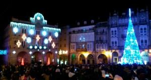 (Vídeo) Ourense preme o botón vermello e dá inicio ao Nadal