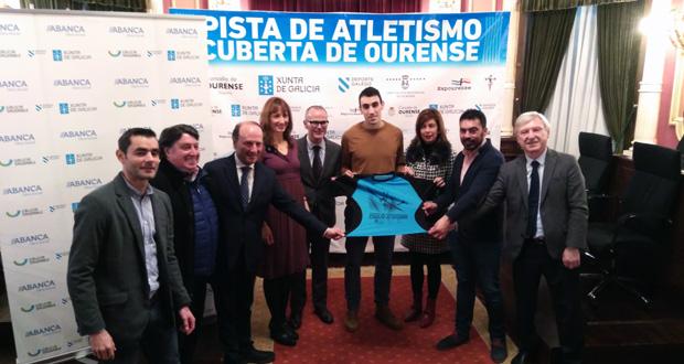 Este sábado inaugúrase a pista hidráulica de atletismo de Ourense, a primeira destas características en Galicia