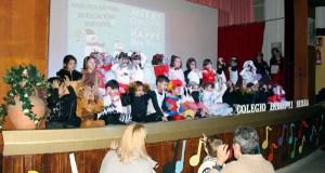 Un Nadal cargado de actividades no colexio Pablo VI-Fátima da Rúa