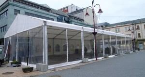 Comeza a instalación da pista de patinaxe de xeo no Barco