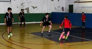 Uns 150 cativos participan no Torneo Roscón de Reis de Fútbol Sala, no Barco