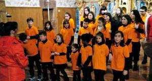 Concerto da Coraliña Cantora de Trives na igrexa de Vilanova (O Barco)