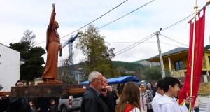 Veigamuíños honra a Santo Tirso