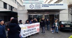 Os traballadores de mantemento do CHUO, contratados por Ferrovial, prevén convocar unha folga indefinida