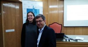 Unha beca do Colexio de Médicos levou a Miriam Iglesias a Salamanca a estudar Citometría