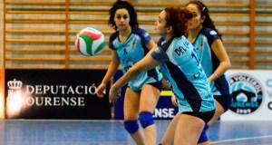 O equipo sénior do CV Ourense cae 2-3 ante o Fuenlabrada