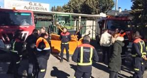 Visita do director xeral de Emerxencias ao GES da Gudiña