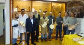 Os alumnos do Obradoiro de Instrumentos da Deputación reciben os seus diplomas