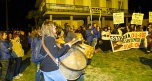 Petín tamén se solidariza cos veciños de San Vicente de Leira
