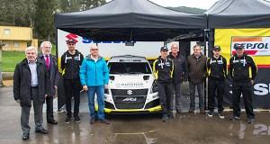 Suzuki presenta, no Balneario de Laias, o equipo de rallyes 2018