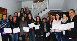 Clausúrase no Carballiño un curso de formación para desempregados