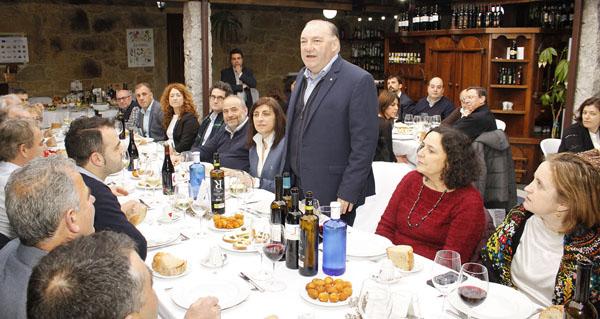A IXP Castaña de Galicia, anfitrioa no xantar de confraternidade dos consellos reguladores galegos