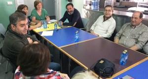 Asfaval recibe a visita do presidente de Fademga-Plena Inclusión Galicia
