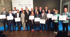 """Unha vintena de municipios ourensáns reciben a acreditación de """"Concello Emprendedor"""""""