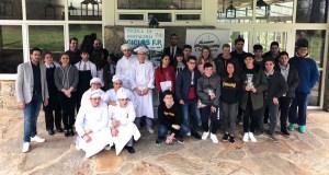 Terceira fase de selección para a final de Children's Chef na Escola de Hostalaría de Rosende