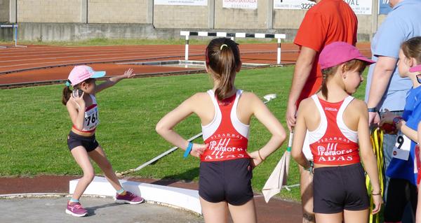 """Nova xornada de atletismo en pista """"Xogade"""", no Barco"""