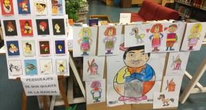 A Biblioteca da Rúa celebra o Día do Libro con lecturas en galego do Quixote e xogos
