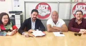 O deputado Moisés Blanco (PP) reúnese co responsable de Minería de UGT-FICA en Galicia
