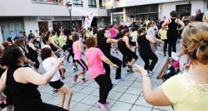 Masterclass de zumba solidaria no Barco, o 1 de xuño