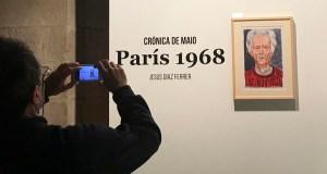A crónica plástica do maio do 68 do valdeorrés Díaz Ferrer, en Santiago