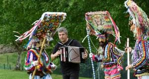 Kepa Junkera une a súa música cos ritmos ancestrais dos folións de Vilariño de Conso e Manzaneda