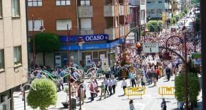 A imaxe de Santa Rita percorre as rúas do Barco