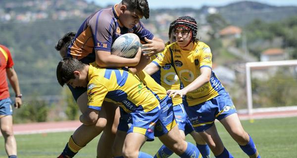 O Campus Ourense Rugby, campión do triangular internacional de rugby sub 14