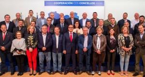 Sinatura de 48 convenios de colaboración entre a Deputación e os concellos da provincia
