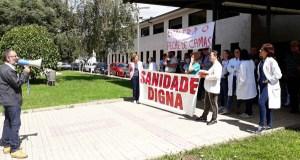 Concentración no Barco en defensa da sanidade pública galega